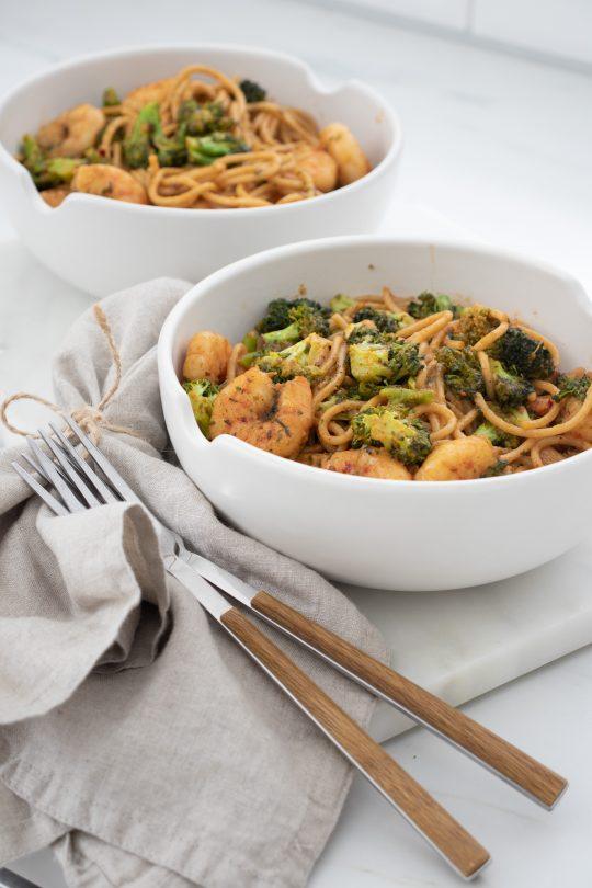 Recept Garnalen Spaghetti