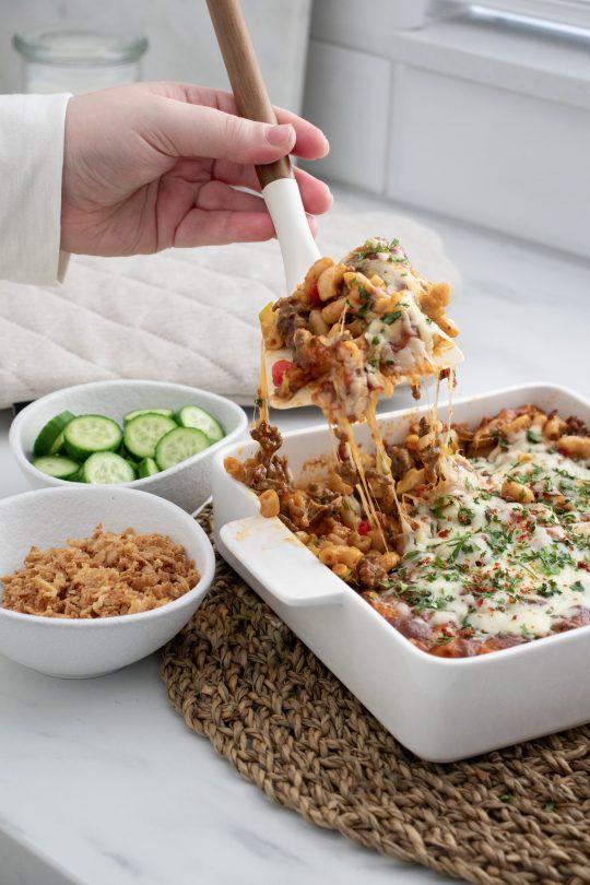Ovenschotel Macaroni Kaas